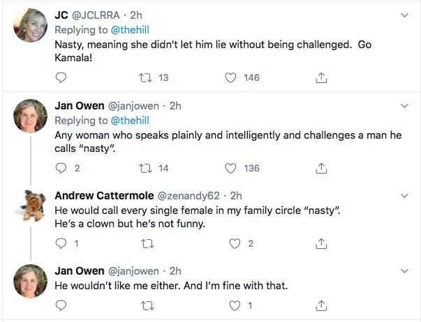 Screen-Shot-2020-08-11-at-9.07.26-PM Trump Rages About Kamala Harris Destroying Brett Kavanaugh Donald Trump Election 2020 Featured Politics Top Stories Twitter Videos