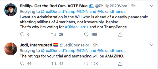 Screen-Shot-2020-08-13-at-9.07.27-AM Trump Tweets Directly To Kamala Harris Like A Scared Little Boy Donald Trump Election 2020 Featured Politics Top Stories Twitter