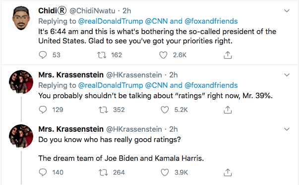 Screen-Shot-2020-08-13-at-9.07.52-AM Trump Tweets Directly To Kamala Harris Like A Scared Little Boy Donald Trump Election 2020 Featured Politics Top Stories Twitter