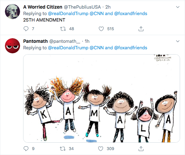 Screen-Shot-2020-08-13-at-9.09.07-AM Trump Tweets Directly To Kamala Harris Like A Scared Little Boy Donald Trump Election 2020 Featured Politics Top Stories Twitter