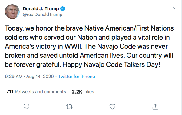 Screen-Shot-2020-08-14-at-9.30.51-AM Trump Goes Full Racist With Crazed Friday Morning Meltdown Donald Trump Election 2020 Featured Politics Top Stories Twitter