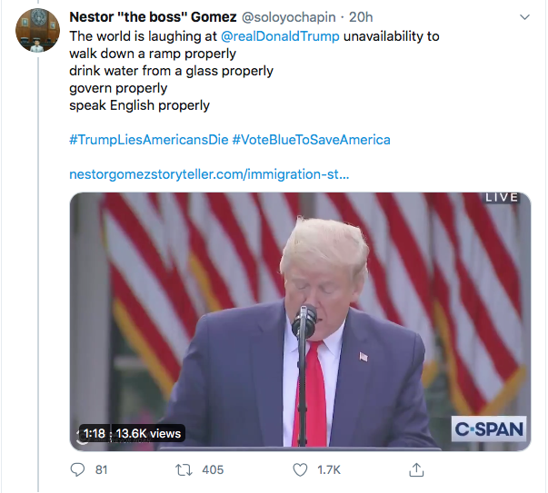 Screen-Shot-2020-08-14-at-9.34.31-AM Trump Goes Full Racist With Crazed Friday Morning Meltdown Donald Trump Election 2020 Featured Politics Top Stories Twitter