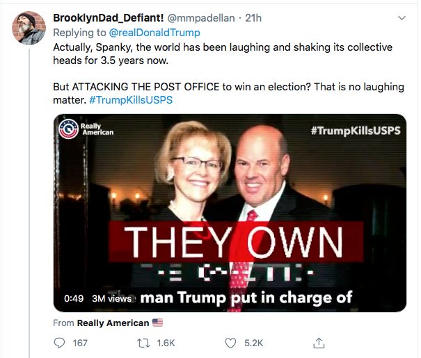 Screen-Shot-2020-08-14-at-9.35.41-AM Trump Goes Full Racist With Crazed Friday Morning Meltdown Donald Trump Election 2020 Featured Politics Top Stories Twitter