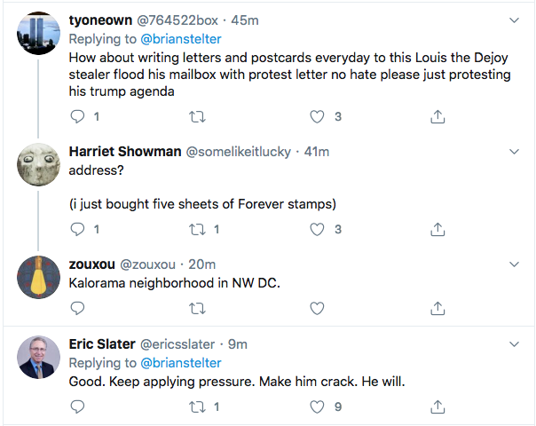 Screen-Shot-2020-08-15-at-9.31.23-AM Protesters Swarm Postmaster General's House In Saturday Protest Corruption Donald Trump Election 2020 Featured Politics Top Stories Videos
