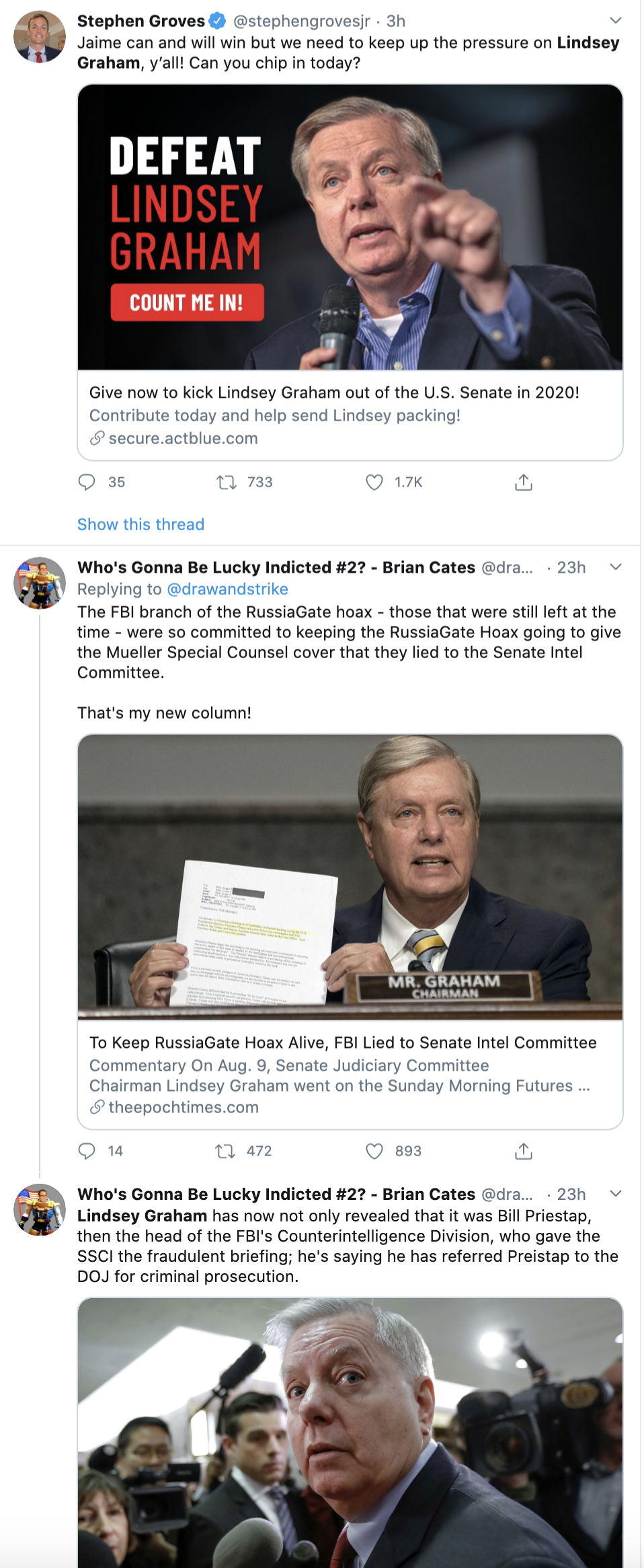 Screen-Shot-2020-08-17-at-11.13.38-AM Lindsey Graham's 2020 Re-Election Chances Take Major Blow Election 2020 Featured Politics Racism Top Stories