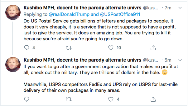 Screen-Shot-2020-08-17-at-12.37.43-PM Trump Tweets Mid-Day Mental Malfunction Over USPS Sabotage Fallout Uncategorized