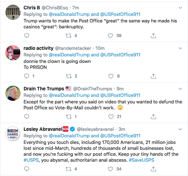 Screen-Shot-2020-08-17-at-12.39.21-PM Trump Tweets Mid-Day Mental Malfunction Over USPS Sabotage Fallout Uncategorized