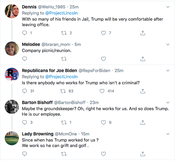 Screen-Shot-2020-08-20-at-7.53.52-PM 'The Lincoln Project' Trolls Trump Over 'Hiring The Best People' In New Video Ad Crime Donald Trump Election 2020 Featured Politics Top Stories Twitter Videos