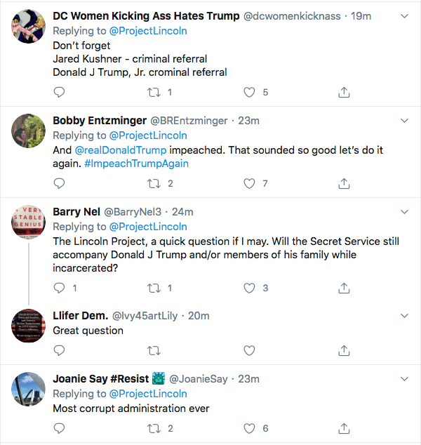 Screen-Shot-2020-08-20-at-7.54.25-PM 'The Lincoln Project' Trolls Trump Over 'Hiring The Best People' In New Video Ad Crime Donald Trump Election 2020 Featured Politics Top Stories Twitter Videos