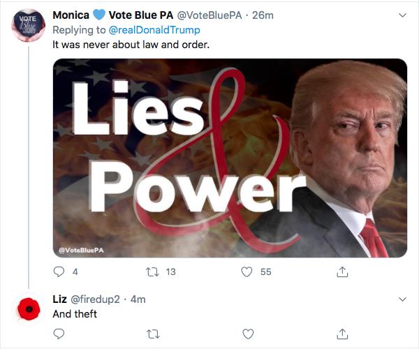 Screen-Shot-2020-08-25-at-8.05.35-PM Trump Kicks Of Night 2 Of RNC With Deranged Ballot Fraud Meltdown Donald Trump Election 2020 Featured Politics Top Stories Twitter