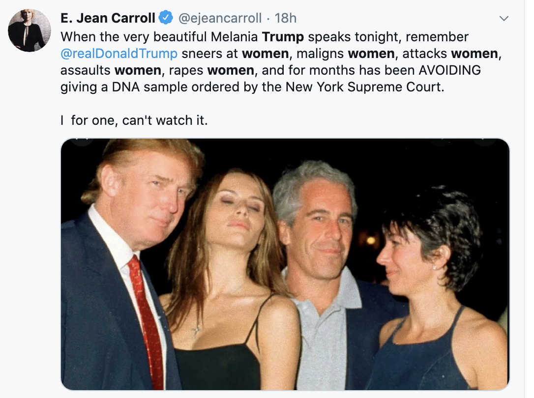 Screen-Shot-2020-08-26-at-1.24.09-PM Account Of Trump Sexual Assault Surfaces For RNC In 'The Atlantic' Featured Feminism Politics Top Stories Violence