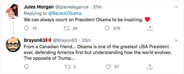 Screen-Shot-2020-08-29-at-11.12.52-AM Obama Out Leads Trump With Tear-Jerking Chadwick Boseman Tribute Celebrities Featured Politics Top Stories Twitter