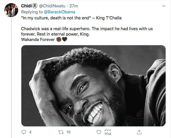Screen-Shot-2020-08-29-at-11.13.24-AM Obama Out Leads Trump With Tear-Jerking Chadwick Boseman Tribute Celebrities Featured Politics Top Stories Twitter
