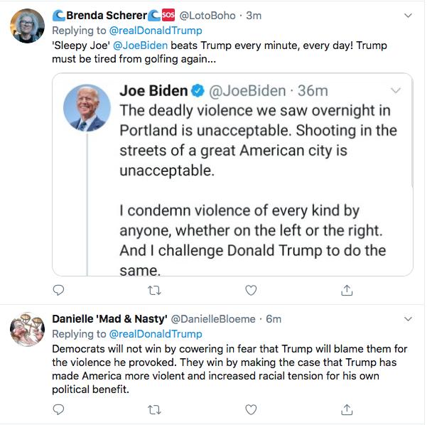 Screen-Shot-2020-08-30-at-4.55.52-PM Trump Tweets Violent Rhetoric During Sunday Evening Meltdown Black Lives Matter Donald Trump Election 2020 Featured Politics Top Stories Twitter
