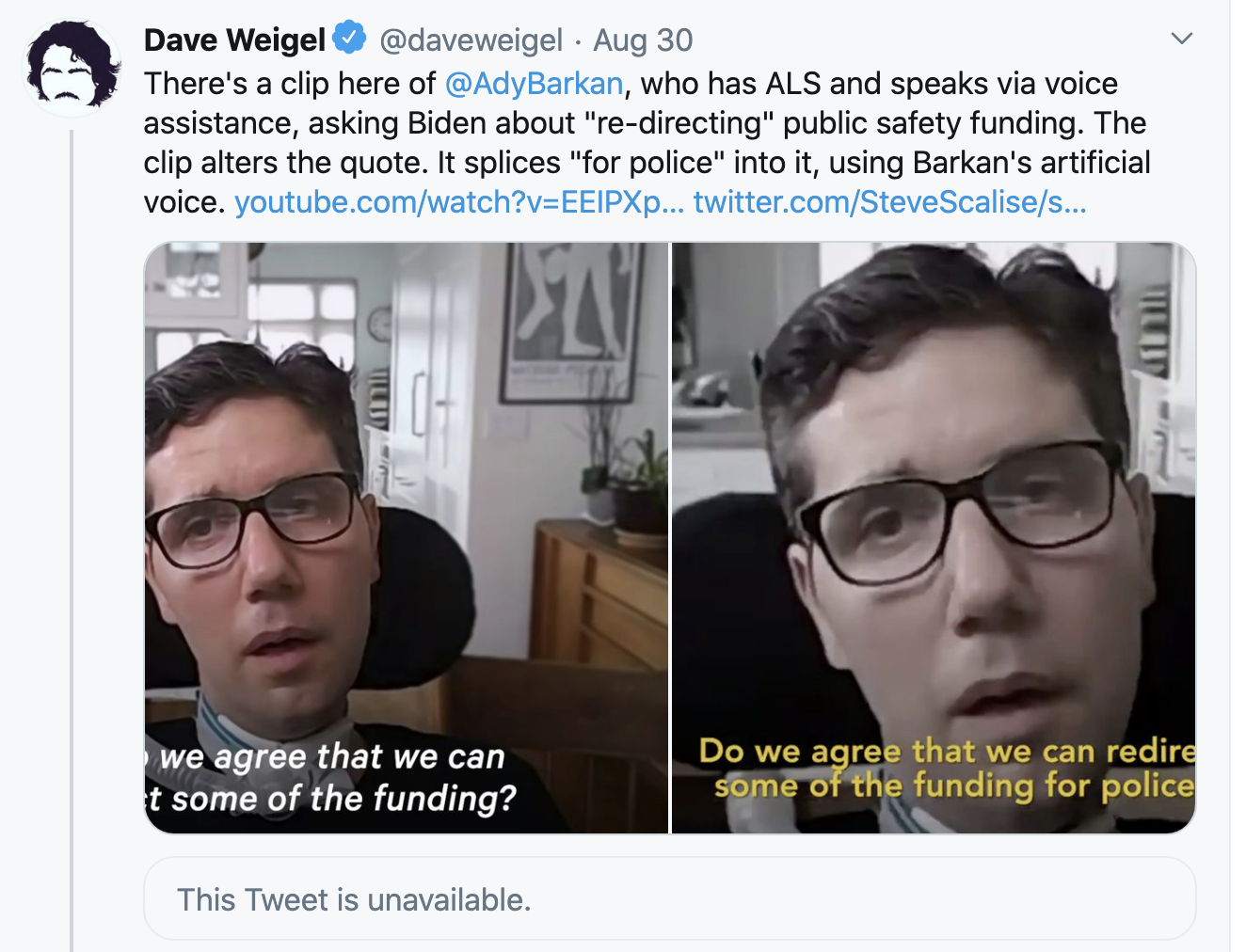Screen-Shot-2020-08-31-at-5.41.17-PM Twitter Puts Disclaimer On Fake Video Posted By Trump Campaign Election 2018 Featured Politics Social Media