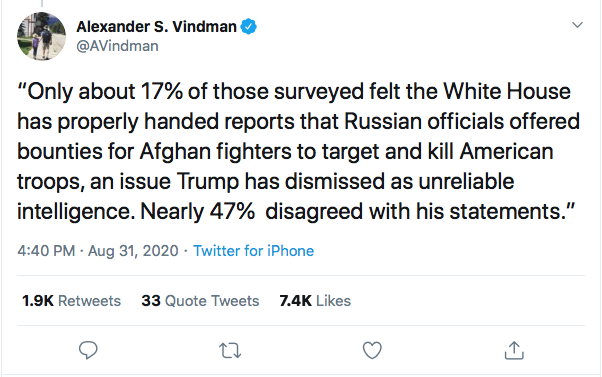 Screen-Shot-2020-08-31-at-9.23.33-PM Alexander Vindman Trolls Trump Over Poll Showing Military Members Loving Biden Donald Trump Election 2020 Featured Military Politics Top Stories