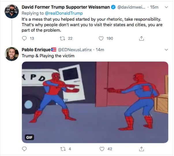 Screen-Shot-2020-08-31-at-9.33.03-AM Trump Has 5-Tweet Morning Eruption of Insanity Donald Trump Election 2020 Featured Politics Top Stories Twitter