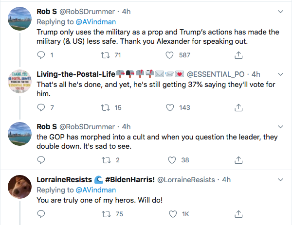 Screen-Shot-2020-08-31-at-9.33.33-PM Alexander Vindman Trolls Trump Over Poll Showing Military Members Loving Biden Donald Trump Election 2020 Featured Military Politics Top Stories