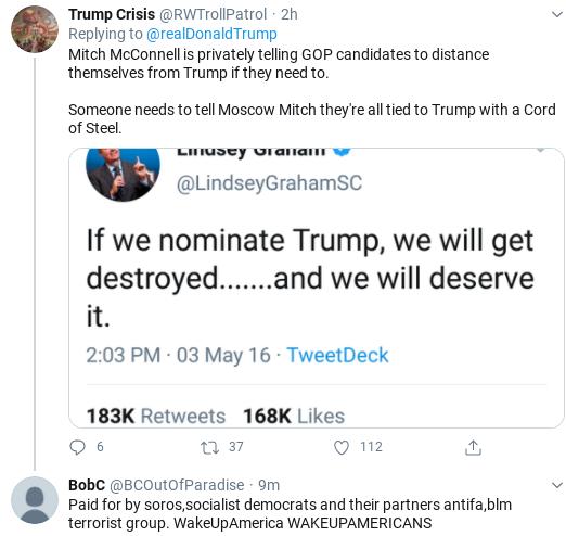 Screenshot-2020-08-03-at-10.03.03-AM 'Illegal Coup' Trump Has 9-Tweet Monday Morning Explosion Of Insanity Donald Trump Politics Social Media Top Stories