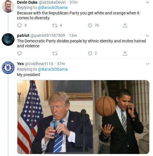 Screenshot-2020-08-03-at-11.41.22-AM Obama Tweets 2020 Marching Orders Like Our Real President Donald Trump Election 2020 Politics Social Media Top Stories