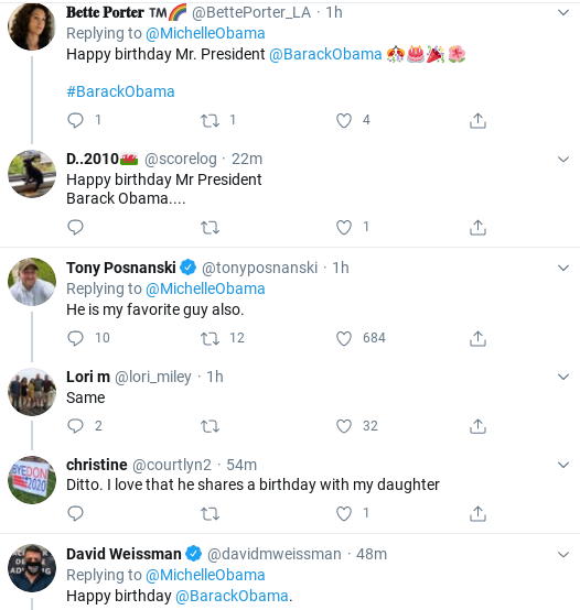 Screenshot-2020-08-04-at-10.14.12-AM Michelle Tweets Beautiful Tuesday Message To Barack Like Melania Never Could Donald Trump Politics Social Media Top Stories