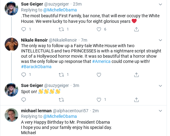 Screenshot-2020-08-04-at-10.14.33-AM Michelle Tweets Beautiful Tuesday Message To Barack Like Melania Never Could Donald Trump Politics Social Media Top Stories