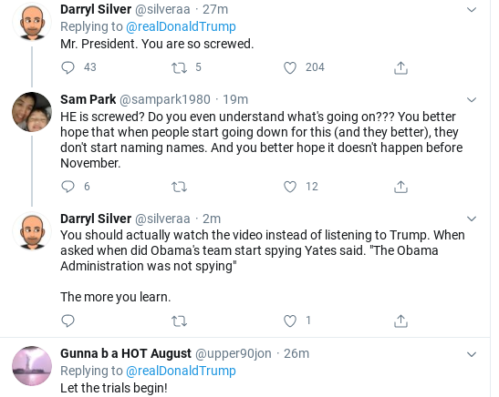 Screenshot-2020-08-05-at-2.38.35-PM Trump Announces 'Treason' For Obama & Biden During Wednesday Meltdown Corruption Donald Trump Politics Top Stories