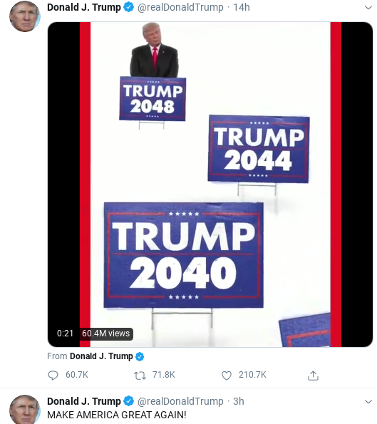 Screenshot-2020-08-05-at-9.43.40-AM Trump Spazzes Into 11-Tweet Wednesday Morning Meltdown Of Insanity Donald Trump Politics Social Media Top Stories