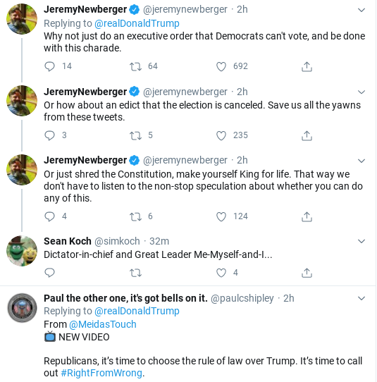 Screenshot-2020-08-05-at-9.49.37-AM Trump Spazzes Into 11-Tweet Wednesday Morning Meltdown Of Insanity Donald Trump Politics Social Media Top Stories