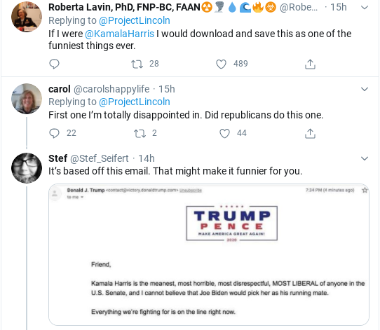 Screenshot-2020-08-15-at-10.31.08-AM 'The Lincoln Project' Strikes Again With Hilarious Anti-Trump Ad Donald Trump Election 2020 Politics Social Media Top Stories