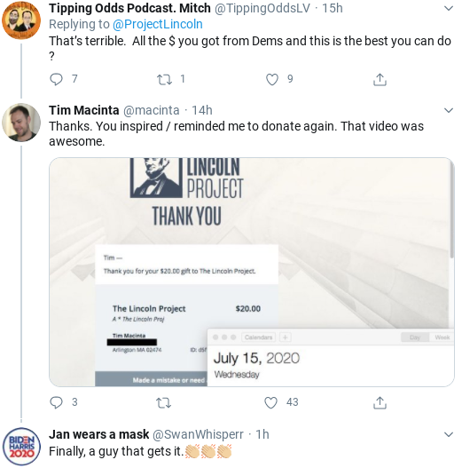 Screenshot-2020-08-15-at-10.31.39-AM 'The Lincoln Project' Strikes Again With Hilarious Anti-Trump Ad Donald Trump Election 2020 Politics Social Media Top Stories