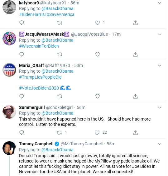 Screenshot-2020-08-21-at-11.58.28-AM Obama Tweets Reminder Of Trump's COVID-19 Failures Donald Trump Politics Social Media Top Stories