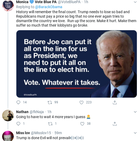 Screenshot-2020-08-28-at-1.42.56-PM Obama Tweets Heroic Weekend Protest & Voting Instructions To America Activism Donald Trump Election 2020 Politics Social Media Top Stories