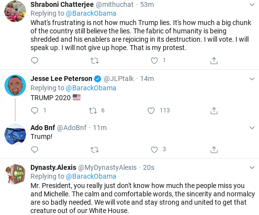 Screenshot-2020-08-28-at-1.45.30-PM Obama Tweets Heroic Weekend Protest & Voting Instructions To America Activism Donald Trump Election 2020 Politics Social Media Top Stories