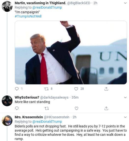 Screenshot-2020-08-29-at-3.09.16-PM Trump Sees New Polls & Launches Saturday Afternoon Hissy-Fit Donald Trump Election 2020 Politics Social Media Top Stories
