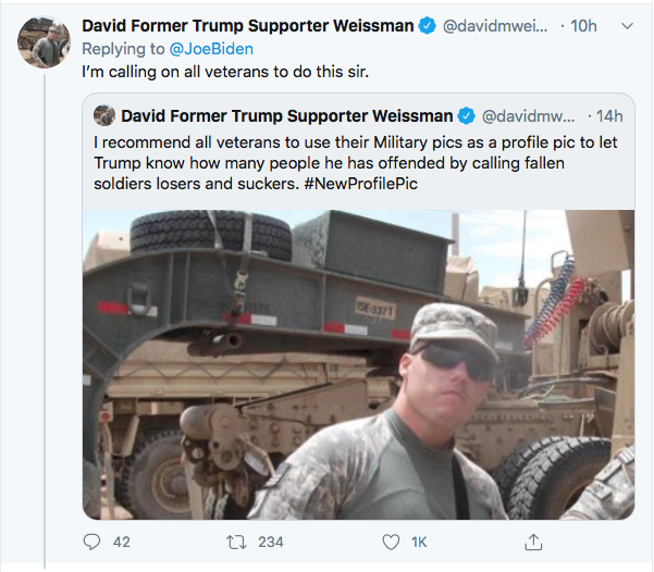 Screen-Shot-2020-09-04-at-10.40.41-AM Biden Publicly Shames Trump For Calling Troops 'Losers' Donald Trump Election 2020 Featured Military Politics Top Stories Twitter