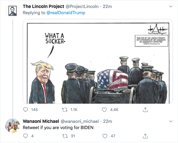 Screen-Shot-2020-09-04-at-11.08.38-AM Trump Tweets At 'The Atlantic' Magazine Like A Defeated 'Loser' Donald Trump Election 2020 Featured Military Politics Top Stories Twitter