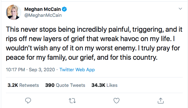 Screen-Shot-2020-09-04-at-9.53.19-AM Family Of John McCain Publicly Shame Disgusting Donald Trump Donald Trump Election 2020 Featured Military Politics Top Stories Twitter