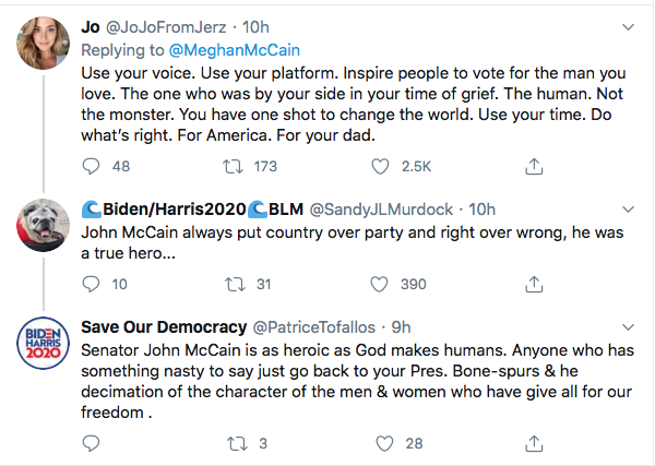 Screen-Shot-2020-09-04-at-9.53.43-AM Family Of John McCain Publicly Shame Disgusting Donald Trump Donald Trump Election 2020 Featured Military Politics Top Stories Twitter