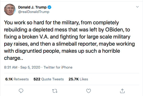 Screen-Shot-2020-09-05-at-9.17.10-AM Trump Attacks McCain Again During Morning Eruption Of Insanity Donald Trump Election 2020 Featured Military Politics Racism Top Stories Twitter