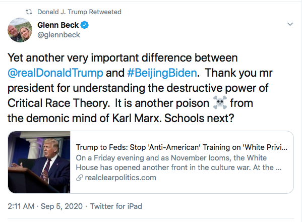 Screen-Shot-2020-09-05-at-9.18.47-AM Trump Attacks McCain Again During Morning Eruption Of Insanity Donald Trump Election 2020 Featured Military Politics Racism Top Stories Twitter