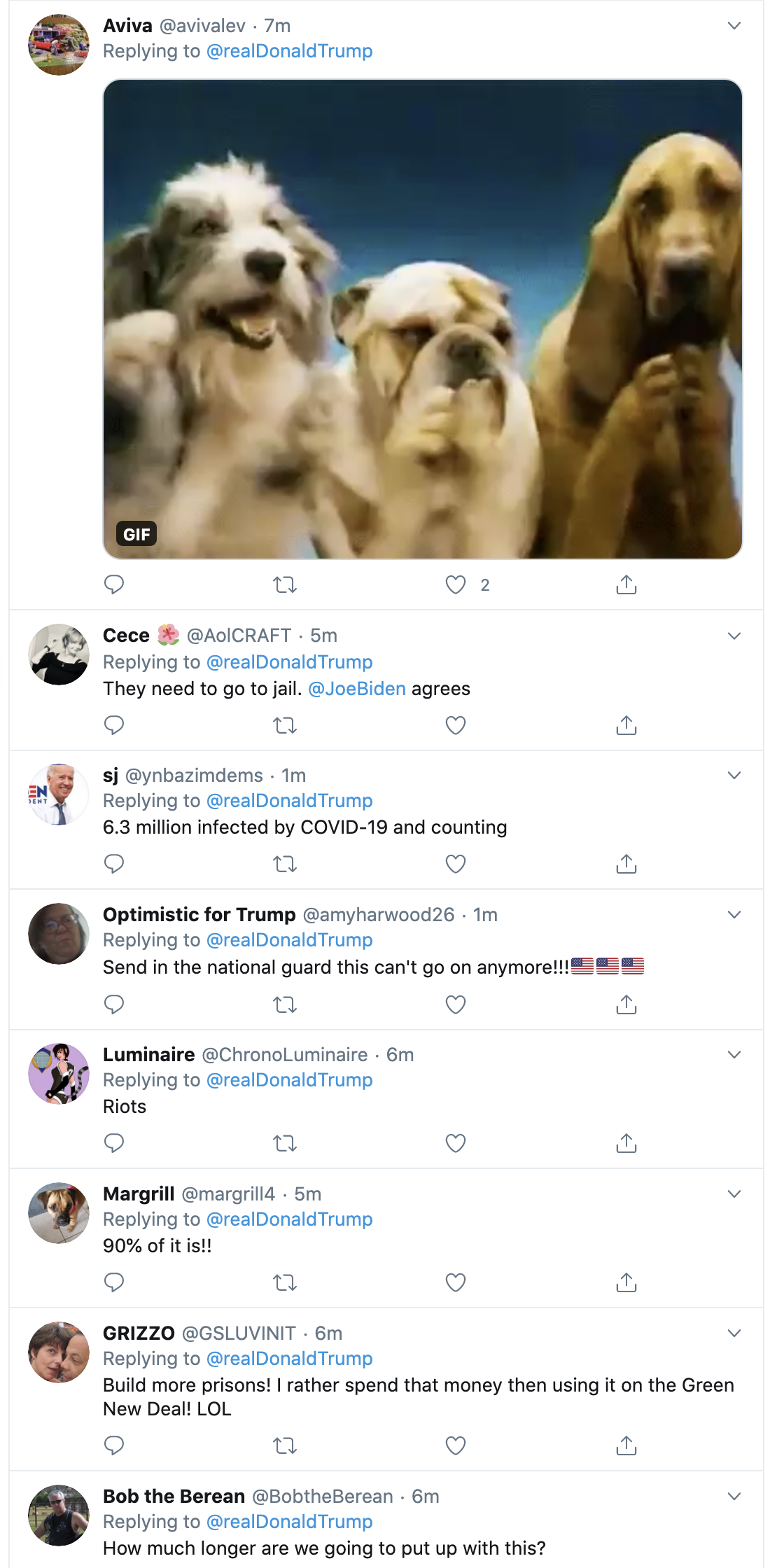 Screen-Shot-2020-09-07-at-7.34.35-AM Trump Gins Up Fear In Desperate Morning Twitter Attack Black Lives Matter Election 2020 Featured Politics Top Stories