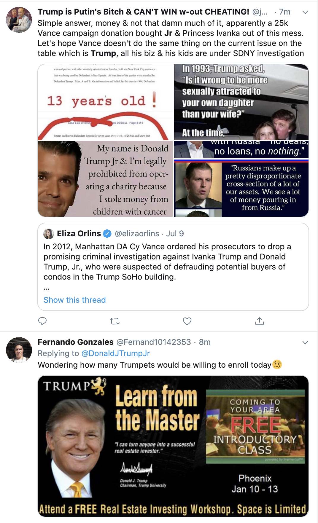 Screen-Shot-2020-09-08-at-11.50.35-AM Trump's Screaming Hiss-Fit At At Don Jr Revealed:  'You Kill Some F*cking Animal' Election 2020 Featured Gun Control Politics Top Stories
