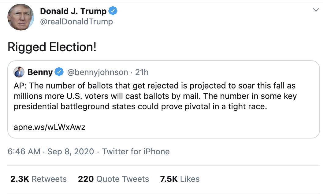 Screen-Shot-2020-09-08-at-7.22.29-AM Trump Erupts Into Deranged 18-Tweet Morning Mega Rant Featured Mental Illness Politics Top Stories