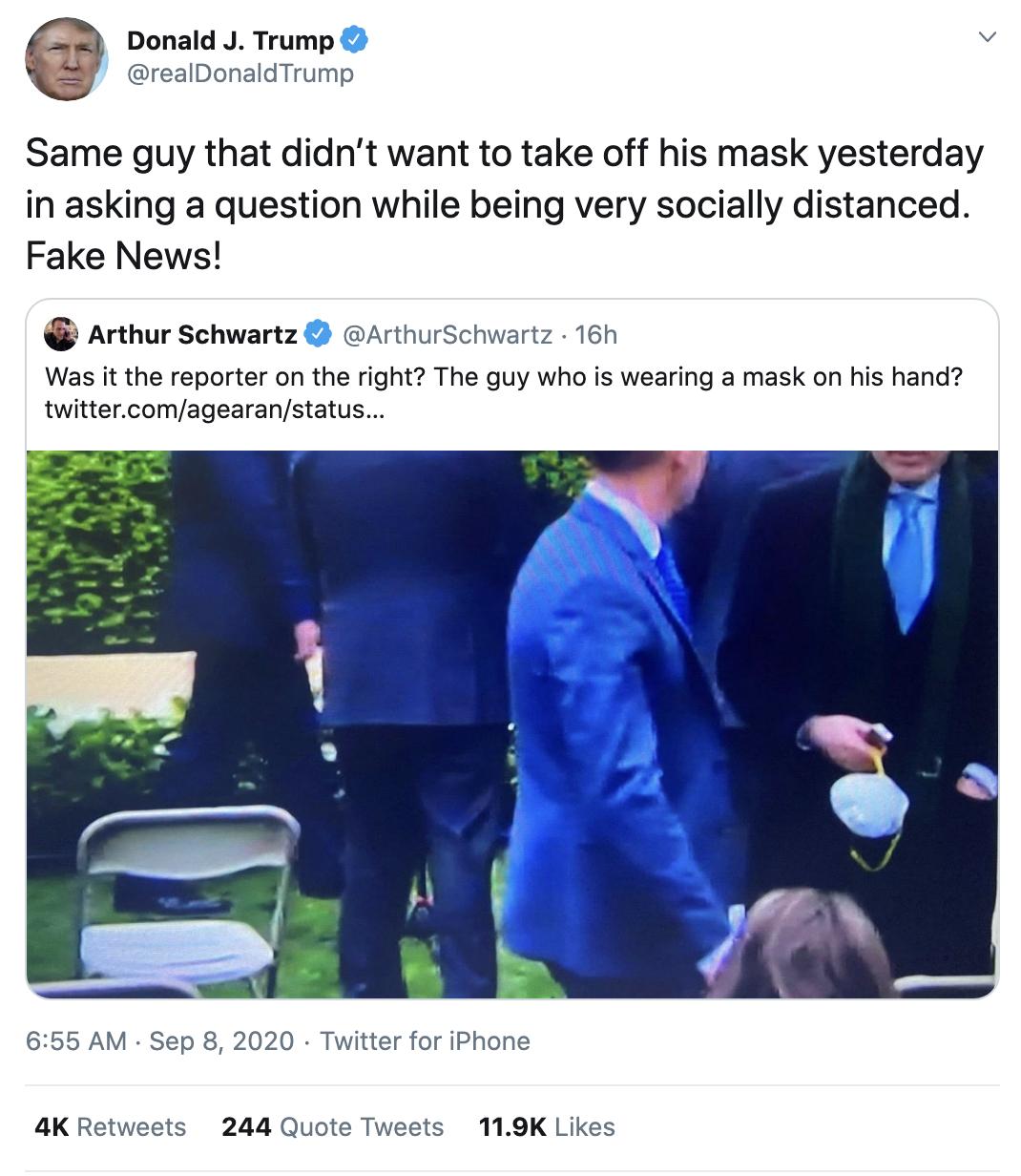 Screen-Shot-2020-09-08-at-7.23.14-AM Trump Erupts Into Deranged 18-Tweet Morning Mega Rant Featured Mental Illness Politics Top Stories