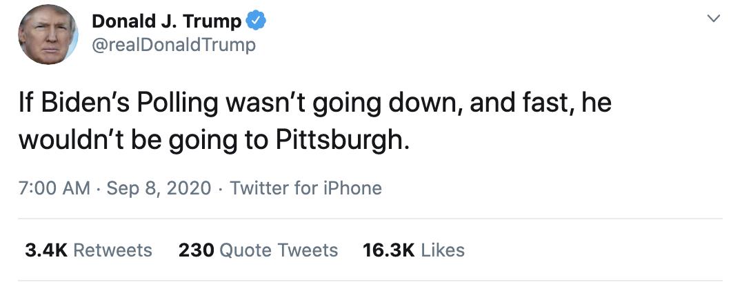 Screen-Shot-2020-09-08-at-7.27.08-AM Trump Erupts Into Deranged 18-Tweet Morning Mega Rant Featured Mental Illness Politics Top Stories