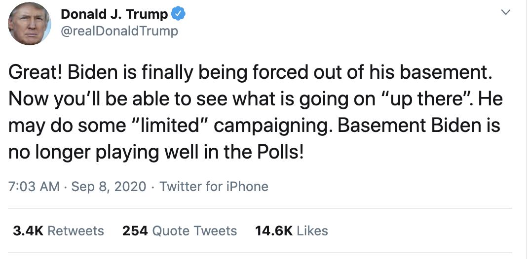Screen-Shot-2020-09-08-at-7.27.47-AM Trump Erupts Into Deranged 18-Tweet Morning Mega Rant Featured Mental Illness Politics Top Stories