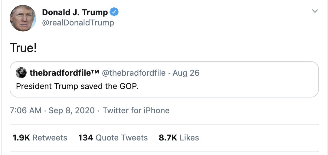 Screen-Shot-2020-09-08-at-7.29.18-AM Trump Erupts Into Deranged 18-Tweet Morning Mega Rant Featured Mental Illness Politics Top Stories