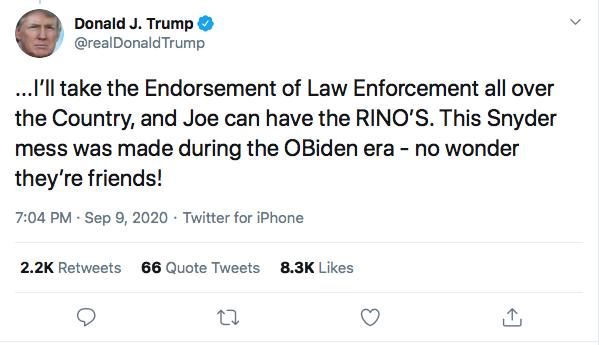 Screen-Shot-2020-09-09-at-7.23.53-PM Trump Sees Woodward Coverage & Suffers 5-Tweet Evening Meltdown Coronavirus Donald Trump Election 2020 Featured Politics Top Stories Twitter