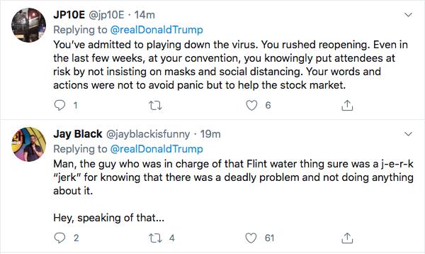 Screen-Shot-2020-09-09-at-7.25.48-PM Trump Sees Woodward Coverage & Suffers 5-Tweet Evening Meltdown Coronavirus Donald Trump Election 2020 Featured Politics Top Stories Twitter